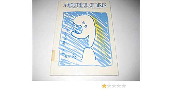 A Mouthful Of Birds Methuen New Theatrescripts Amazon
