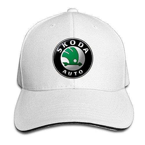 teenmax-unisex-skoda-logo-sandwich-peaked-baseball-cap