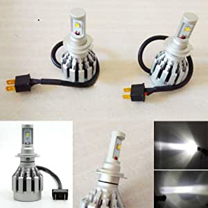 H7 30W 3000LM 2PCS voiture LED Blanc phare de lumière Energy Saving lampe de tête de Lam
