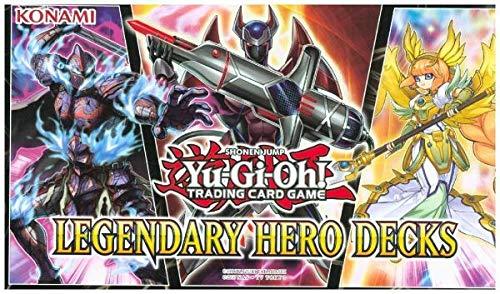 Konami Yu-Gi-Oh! Legendary Hero Decks Deutsch