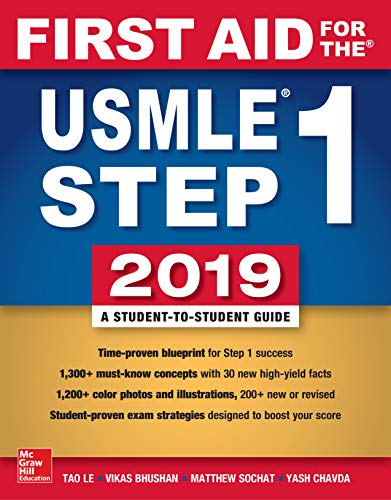 First Aid for the USMLE Step 1 2019,  Twenty-ninth edition (English Edition)