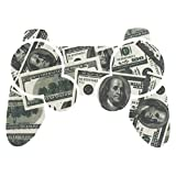 PlayStation 3 PS3 Controller Sticker - Aufkleber Schutzfolie Skin für Sony Playstation DualShock 3 Wireless Controller Big Ballin