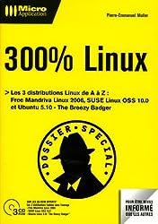 300% Linux (3Cédérom)