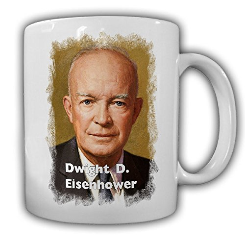 Tazza Presidente Dwight D. Eisenhower 34Presidente Stati