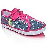 Keds KE Barbie AC Denim Stripe Girls Trainers / Shoes