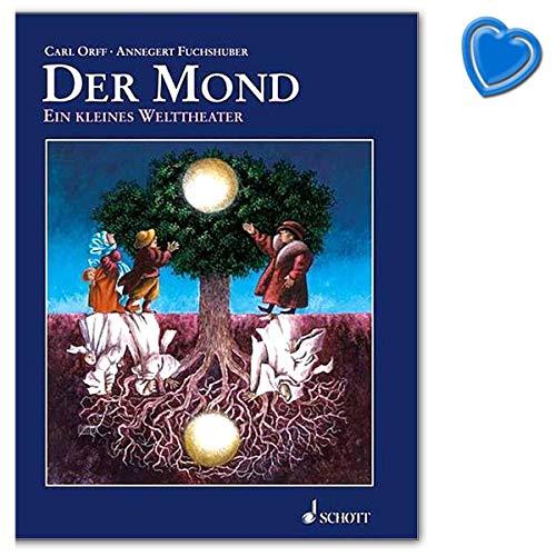 Le Mond une petite théâtre dans un monde de contes de fées de la Grimm - Livre avec pince à partitions colorées - ED9541 9783795704735