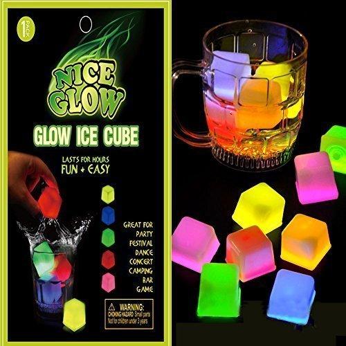 Glow Cube LED Eiswürfel Form Lichter für Party Night & Bars & Hochzeit mehrere Farbe (Taylor-swift-kostüm)