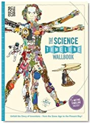 The Science Timeline Wallbook: Unfold the Story of Science - from the Stone Age to the Present Day! (UK Timeline Wallbooks)