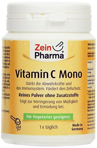 51HRGA5NqtL - ZeinPharma Vitamina C Mono Polvo, 1er Pack (1 x 250 g)