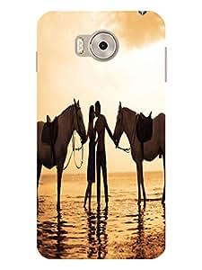 TREECASE Designer Printed Soft Silicone Back Case Cover For Panasonic Eluga Note