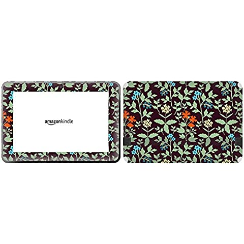 Get It Stick It skintabamafirehd89 _ 98 William Morris Estilo Diseño de flores para Amazon Kindle Fire HD de
