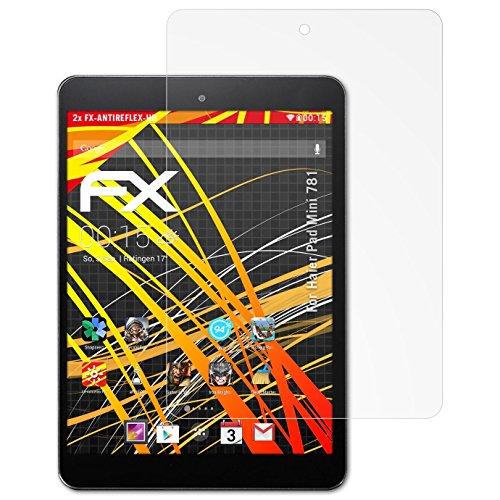 atFolix Schutzfolie kompatibel mit Haier Pad Mini 781 Displayschutzfolie, HD-Entspiegelung FX Folie (2X)
