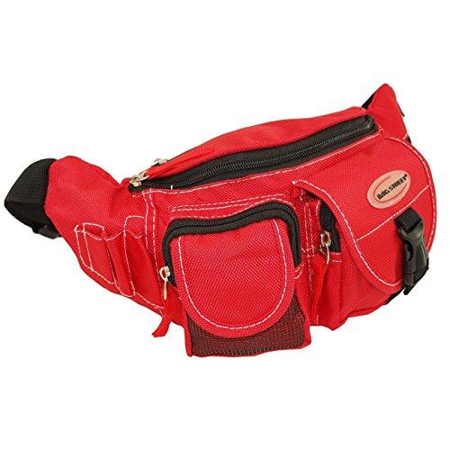 Gürteltasche Nierentasche Freizeittasche Hüfttasche Bag Street Rot