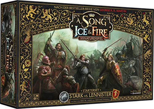 Asmodee A Song of Ice & Fire: Tabletop Miniaturen - Stark vs. Lannister ()