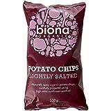 Biona Organic Potato Chips 100 g (Pack of 4)