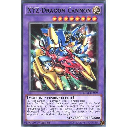 YuGiOh : MIL1-EN040 1st Ed XYZ-Dragon Cannon Rare Card - ( Millennium Pack ) by Deckboosters