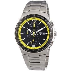 Boccia Herren-Armbanduhr XL Analog Quarz Titan 3773-04