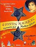 Quatre contes magiques racontés par Marlène Jobert - Les Trois Petits Cochons ; Cendrillon ; Ali Baba ; Blanche-Neige (2CD audio)