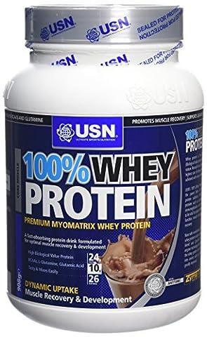 USN - UN01 - 100 % Whey Protein - Saveur Chocolat - 908 g