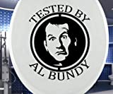 Aufkleber WC Deckel TESTED BY AL BUNDY
