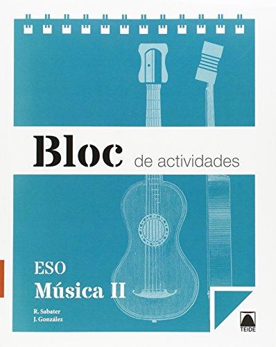 Bloc de actividades. Música II ESO - 9788430790111