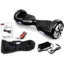 E-Balance Wheel Mono Rover M.1 - Scooter eléctrico SmartBoard, negro