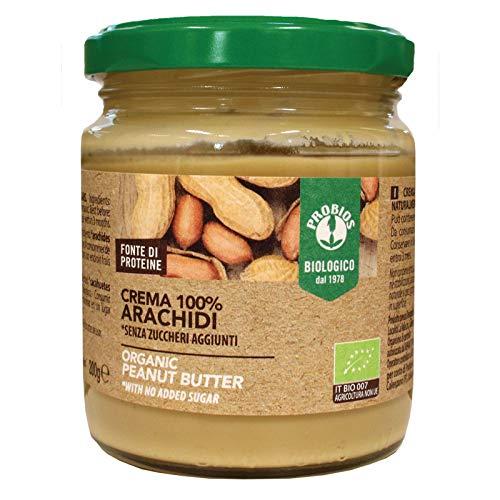 Crema di arachidi 100% biologica 200gr