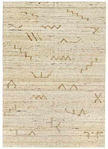 HAMID - Alfombra Kilim Montana con Diseño Rustico - 100% Lana - Alfombra Anudada a Mano - Alfombra...