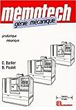 Génie mécanique - Productique mécanique