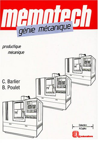 Gnie mcanique : Productique mcanique