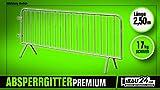 Absperrgitter/Personengitter Premium