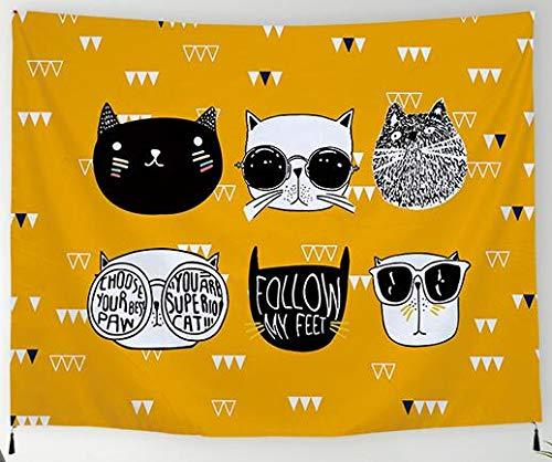 ng orientalische dekoration Tuch Wandtuch Gobelin Tapestry Goa Dekotuch Tagesdecke Strandtuch Tapisserie Wandkunst Strandtuch Strand Schal Tisch Sofa Cover Wand Dekor-150x130cm-A ()