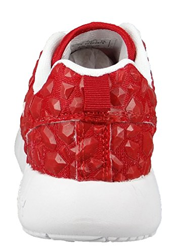 03 Sneaker La Rot Do Engrenagem Emborrachado Malha Vermelho Sol L39 Nascer 3607 55r8xRqa