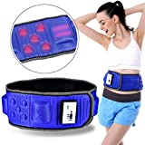 Finlon Electric Vibrating Slimming Belt Massage Waist Slimming Exercise Leg Belly Fat Burning Heating Abdomen Massager Lose Weight Vibration Waist Massage Slimming Belt Multifunction for Women&Men