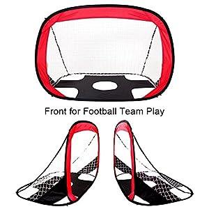 Multifunzione 2in 1obiettivo da calcio porta portatile indoor outdoor Goals bambini calcio formazione pratica per porte da calcio sport outdoor bambini Tools