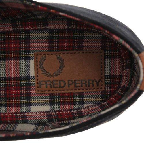 Fred Perry Foxx Suede Marineblau Blau