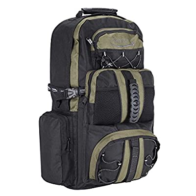 More4bagz Large 65 Litre Travel Hiking Camping Rucksack Backpack Holiday Luggage Bag (Olive) - hiking-backpacks