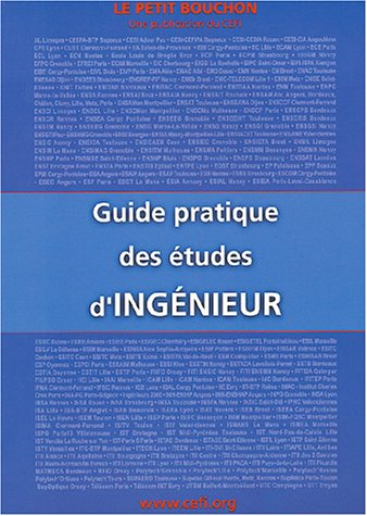 Le Petit Bouchon : Guide pratique des études d'ingénieur
