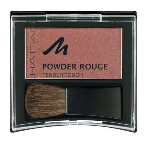 Manhattan Powder Rouge, fresh peach 4, 3er Pack