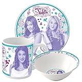*Violetta* Frühstücksset. 3tlg. Keramik Promo