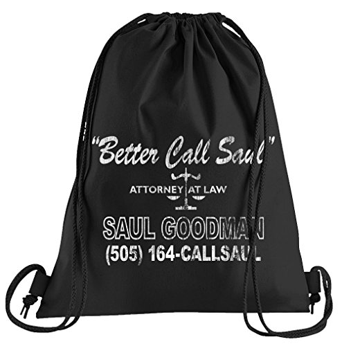 Touchlines Better Call Saul Sportbeutel – bedruckter Turnbeutel mit ()