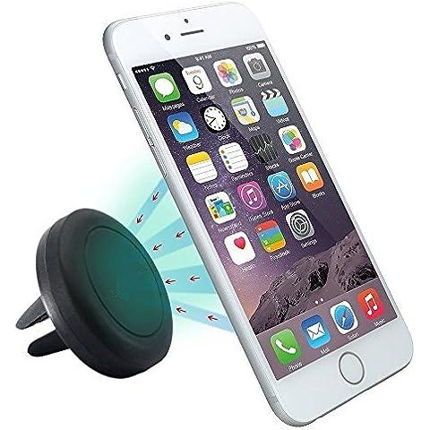 Soporte Movil Coche, SAVFY® Air Magnético de Smartphone Movíl Rejillas del Aire de Coche para iPhone 6s / 6 Plus, Samsung Galaxy S6 / Note 4 / LG G3 y Dispositivo GPS