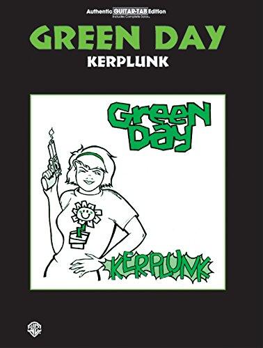ALFRED PUBLISHING GREEN DAY - KERPLUNK - GUITAR TAB (Tab Green Day Guitar)