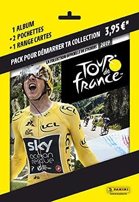 Panini France SA SA- Album + Porte Cartes + 2 Pochettes Tour DE France 2019, 2508-014