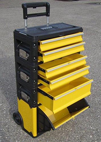 Metall Werkzeugtrolley XXL Type 305BBCD - jetzt neu mit Schubladenverriegelung und Schloss von AS-S