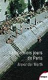 Les derniers jours de Paris par Werth