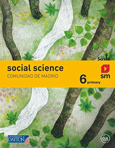 Social Science. 6 Primary. Más Savia. Comunidad Madrid