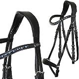 heinick de hípica Comfort Bocado ~ Ginebra ~ hannoveranisch Equestrian–Brida mediasangre, purasangre, negro