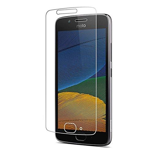 Heartly Premium 2.5D 0.3mm Pro Tempered Glass Screen Protector For Motorola Moto G5