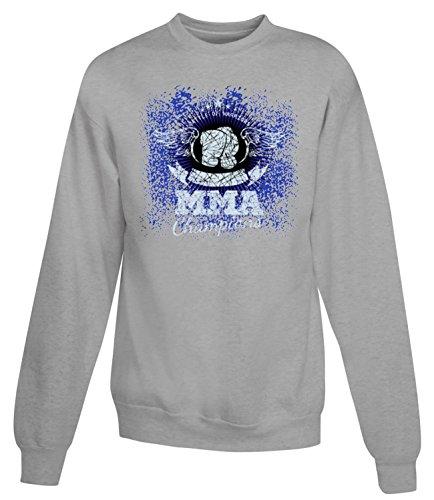 Billion Group | Ring Labels | Fight Club | Sport Series | Women's Unisex Sweatshirt Gris